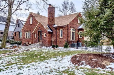 5886 Forest Lane, Indianapolis, IN 46220 - #: 21545519