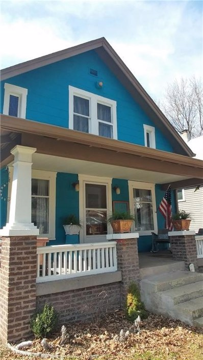 1224 N Oxford Street, Indianapolis, IN 46201 - MLS#: 21548153