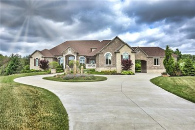 6262 Montana Springs Drive, Zionsville, IN 46077 - #: 21548465