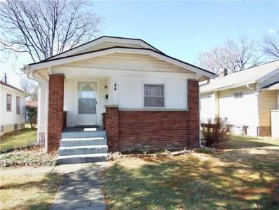 44 S Arlington Avenue, Indianapolis, IN 46219 - #: 21549426