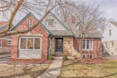 5252 N Boulevard Place, Indianapolis, IN 46208 - #: 21549628