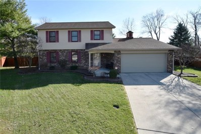 8466 Hill Pine Court, Indianapolis, IN 46227 - #: 21549781