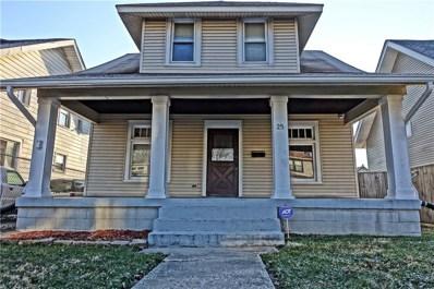25 Wallace Avenue, Indianapolis, IN 46201 - MLS#: 21550914