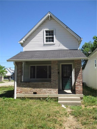 1206 Fletcher Avenue, Indianapolis, IN 46203 - MLS#: 21554521