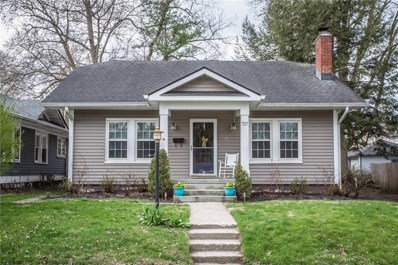 717 E 55TH Street, Indianapolis, IN 46220 - #: 21559132
