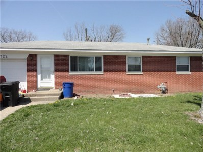 1722 Hawthorne Drive, Plainfield, IN 46168 - #: 21560213