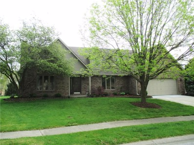 343 Nottinghill Court, Indianapolis, IN 46234 - #: 21564045