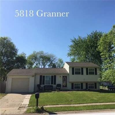 5818 Granner Drive, Indianapolis, IN 46221 - MLS#: 21565158