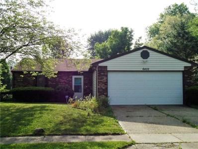 6405 Kellum Drive, Indianapolis, IN 46221 - MLS#: 21565197