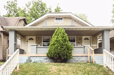 334 N Keystone Avenue, Indianapolis, IN 46201 - MLS#: 21569493