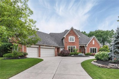 4874 Deer Ridge Drive N, Carmel, IN 46033 - #: 21570084