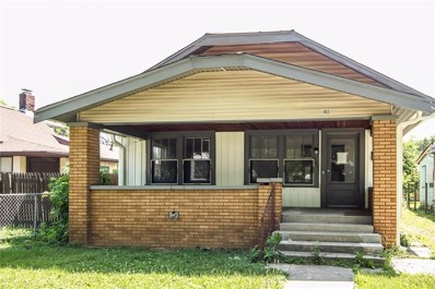 403 N Gladstone Avenue, Indianapolis, IN 46201 - #: 21571220
