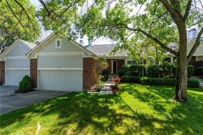 7851 Clearwater Cove Drive, Indianapolis, IN 46240 - #: 21573299