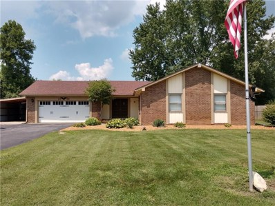 2110 Postmaster Lane, Greenfield, IN 46140 - #: 21584006