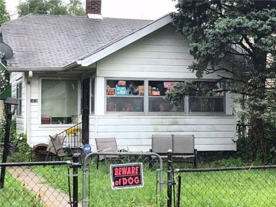 1419 W 28TH Street, Indianapolis, IN 46208 - #: 21586003