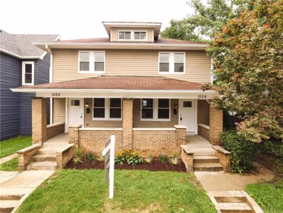 1526 S East Street, Indianapolis, IN 46225 - #: 21586065