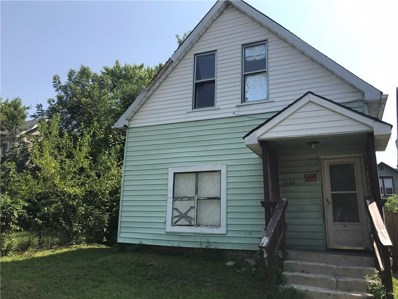 1105 N Beville Avenue, Indianapolis, IN 46201 - #: 21586425