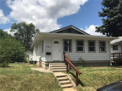 1322 N Gale Street, Indianapolis, IN 46201 - MLS#: 21588250