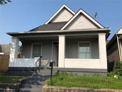 1236 Blaine Avenue, Indianapolis, IN 46221 - MLS#: 21589203