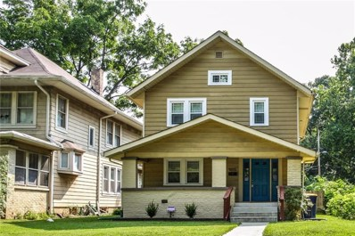 4053 Rookwood Avenue, Indianapolis, IN 46208 - #: 21589408