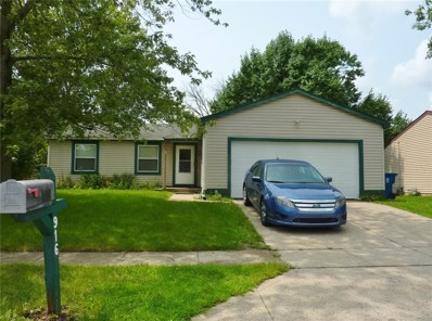 916 Waring Drive E, Indianapolis, IN 46229 - #: 21590252