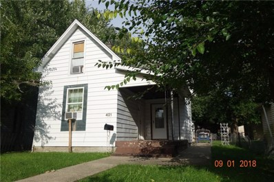 421 N Euclid Avenue, Indianapolis, IN 46201 - #: 21593243
