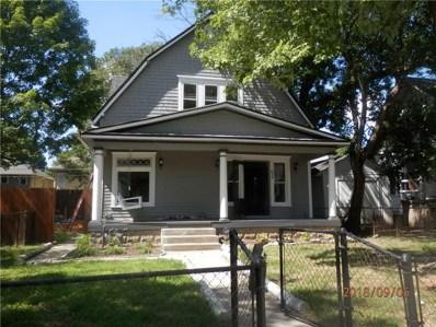 934 Tecumseh Street, Indianapolis, IN 46201 - #: 21593580
