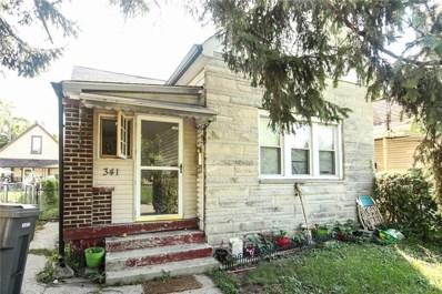 341 E Morris Street, Indianapolis, IN 46225 - #: 21594556