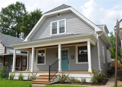 334 Iowa Street, Indianapolis, IN 46225 - #: 21595757