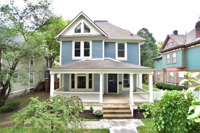 548 Woodruff Place East Drive, Indianapolis, IN 46201 - MLS#: 21597320