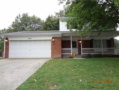 1404 N Wolf Court, Indianapolis, IN 46229 - #: 21599310
