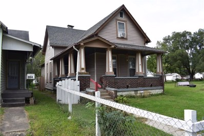206 N Beville Avenue, Indianapolis, IN 46201 - #: 21604750