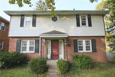 1936 Kessler Boulevard East Drive, Indianapolis, IN 46220 - #: 21605225