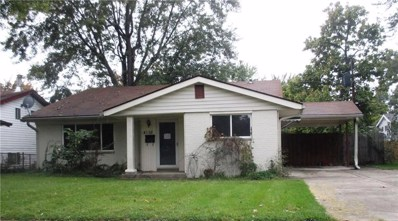 4128 Flamingo East Drive, Indianapolis, IN 46226 - #: 21606160
