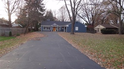7320 Holliday Drive W, Indianapolis, IN 46260 - #: 21607725