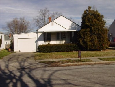 5244 E 20TH Street, Indianapolis, IN 46018 - #: 21610367