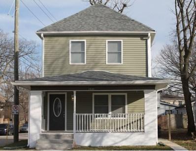 1037 N Keystone Avenue, Indianapolis, IN 46201 - #: 21611926