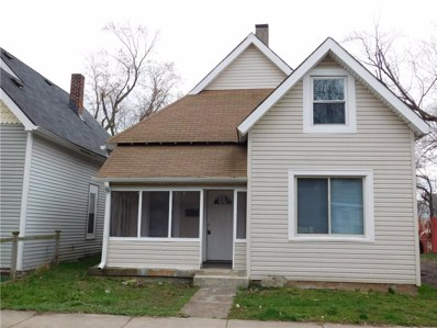 1553 W New York Street, Indianapolis, IN 46222 - #: 21613157