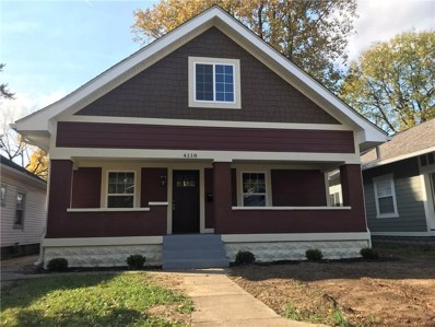 4118 Rookwood Avenue, Indianapolis, IN 46208 - #: 21615086