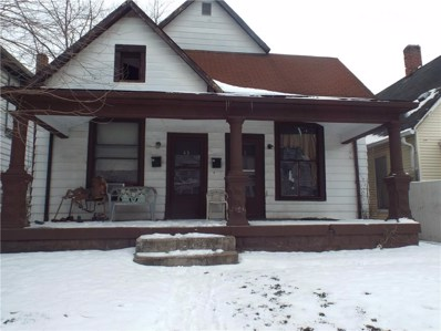 43 N Addison Street, Indianapolis, IN 46222 - MLS#: 21615729