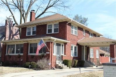 5131 N Delaware Street, Indianapolis, IN 46205 - #: 21617034
