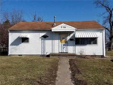 216 Mohawk Street, Anderson, IN 46012 - #: 21627950
