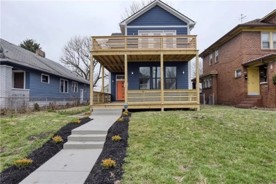 1615 Woodlawn Avenue, Indianapolis, IN 46203 - #: 21628027