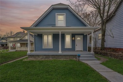 1822 Commerce Avenue, Indianapolis, IN 46201 - #: 21629370