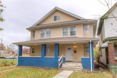2341 N Carrollton Avenue, Indianapolis, IN 46205 - #: 21633475