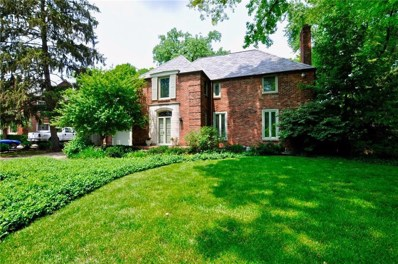 502 Blue Ridge Road, Indianapolis, IN 46208 - #: 21636040