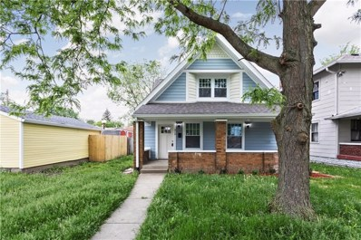 810 N Temple Avenue, Indianapolis, IN 46201 - #: 21640372
