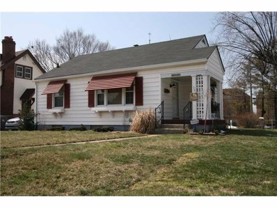 1324 N Wallace Avenue, Indianapolis, IN 46201 - #: 21645935