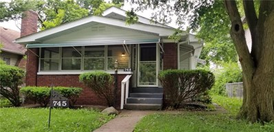 745 W 32nd Street, Indianapolis, IN 46208 - #: 21647853