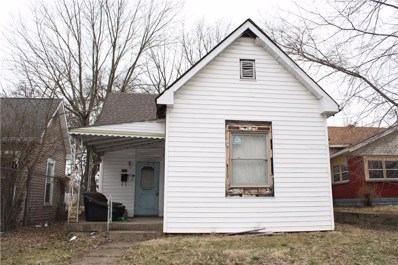 1110 N Sheffield Avenue, Indianapolis, IN 46222 - #: 21649989